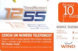 Ricarica Telefonica Wind Euro 10 - [2] Tarjetas Móviles, Prepagadas & Recargos