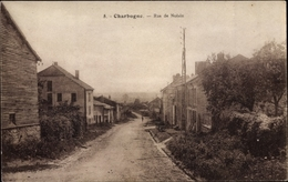 Cp Charbogne Ardennes, Rue De Noisin - France