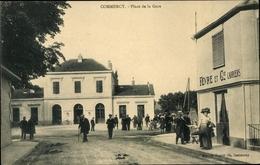 Cp Commercy Lothringen Meuse, Place De La Gare - France