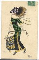 CE. NAILLOT-Femme...Mode Sac, Chapeau...1912 - Naillod