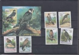 Sahara RSAD Michel Cat.No. Mnh/** Issued 1999 Set + Sheet Birds - Sonstige - Afrika