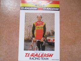 Cyclisme Photo Signee Tietrich Thurau - Cyclisme