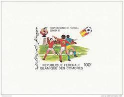 Comores Nº Michel 614 Al 618 En Hojas - 1982 – Espagne