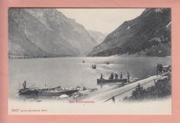 OUDE POSTKAART ZWITSERLAND - SCHWEIZ -      AM  KLONTHALERSEE -  1900'S - GL Glaris