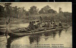Occ. Belge; Carte Illustrée N° 7. Vue  30 : En Marche Vers Biaramulo. Passage De La Kafera  ( Neuve) - Entiers Postaux