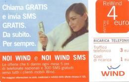 Ricarica Telefonica Wind Euro 4 - Italie