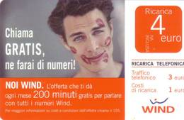 Ricarica Telefonica Wind Euro 4 - [2] Tarjetas Móviles, Prepagadas & Recargos