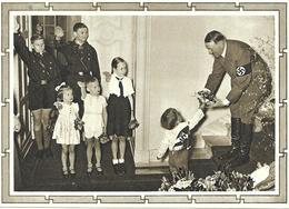 """Entier Postal Illustré """" Kindergruppe """". Michel  P 278-04 1939 Voyagée Voir 2 Scan - Entiers Postaux"""