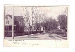 MANAHAWKIN, New Jersey, USA, Division Street, 1907 UB Postcard McClure Postcard - Andere