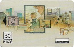 Argentina - Telecom Argentina - Schlumberger Sheraton - 12.1993, SC5, 50U, 1.000ex, Mint - Argentinien