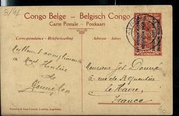 Occ. Belge; Carte Illustrée N° 8. Vue : 41. Les Positions De La Sebea, Vues Du Mont Mitoko- Obl. Kigoma 1918 - France - Entiers Postaux