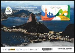 Brazil 2016 Rio De Janeiro Olympic Games Souvenir Sheet - From 2012 MNH/** (H59E-5) - Sommer 2016: Rio De Janeiro