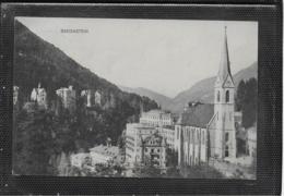 AK 0489  Badgastein - Verlag Fuchs Um 1910 - Bad Gastein