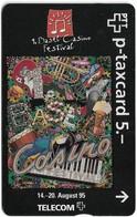 Switzerland - Swisscom (L&G) - W-Cards - Basel Casino Festival - 507L - 07.1995, 5Fr, 3.000ex, Used - Schweiz