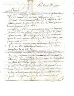 Lettre 1790 / PARIS / D GOGUET à M MATH Négociant PUY Haute Loire - ... - 1799
