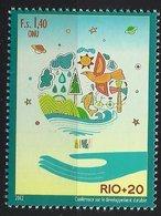 """2012 UNO Genf  Mi. 794**MNH """"RIO+20"""" - Konferenz Der Vereinten Nationen über Nachhaltige Entwicklung - Neufs"""