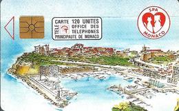Télécarte Monaco - Société Protectrice Des Animaux/ 120 U - 110 000 Ex. - 04/92 - Monace