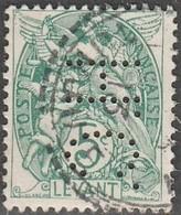 """Levant Français.  Perfins  """"H.C."""" - Levant (1885-1946)"""