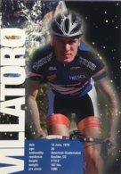 Postcard Anton Villatoro - US Postal  - 1997 - Ciclismo