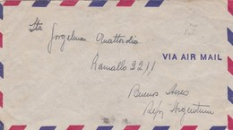 EQUATEUR ENVELOPE CIRCULEE DE GUAYAQUIL A BUENOS AIRES, ARGENTINE ANNEE 1946 PAR AVION EXPRESS BANDELETA -LILHU - Ecuador