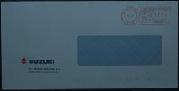 Belgium - Advertising Meter Franking Cover 2001 Kontich Suzuki Car PBG1281 - 2000-...