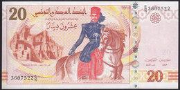 Tunisia 20 Dinars 2011 P93 UNC - Tunisia