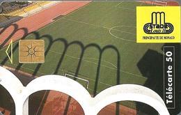Télécarte Monaco - Stade Louis II  /  50 U - 53 000  Ex. - 10/95 - Monace
