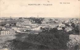 Montpellier           34            Vue Générale  2     (Voir Scan) - Montpellier