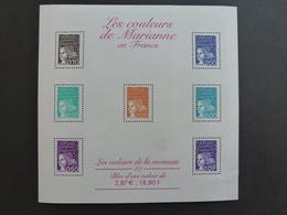 FRANCE Bloc Feuillet Les Couleurs De Marianne 2001 NEUF ** Y&T N°BF 41 - Mint/Hinged