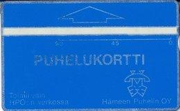 Finland Phonecard HÄMEEN PUHELIN HPO-D7 ( 304D..... ) - Finlande
