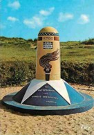 50 - Sainte Marie Du Mont - Utah Beach - La Borne Km 00 De La Voie De La Liberté Empruntée Par Les Troupes Alliées Après - France