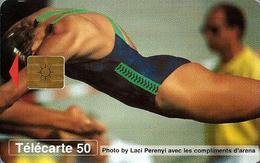 Télécarte Monaco - Natation /  50U - 52 000  Ex. - 05/96 - Monace