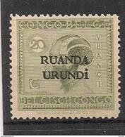 RUANDA URUNDI 53 MNH NSCH ** - 1924-44: Nuevos