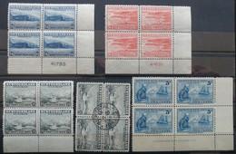 TERRE NEUVE NEWFOUNDLAND Lot De Timbres Anciens Neufs, Avec Et Sans Charnière Et Oblitérés. Voir Scan Svp. - 1908-1947