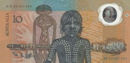 BANCONOTA AUSTRALIA 10 -EF (TY2010 - Dezimale Regierungsausgaben 1966-...