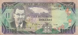 BANCONOTA JAMAICA 100 DOLLARI 1991 - VF (TY2018 - Jamaique