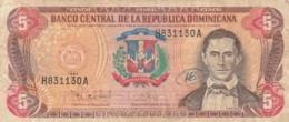 BANCONOTA REPUBBLICA DOMINICANA 5 1997  - VF (TY2012 - Dominicana