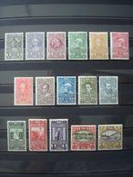AUSTRIA 1910 MH* COT. 425 EUR Yv. Nr 119-134 (complete Set Excluding 10K Nr 135) - 1850-1918 Imperium