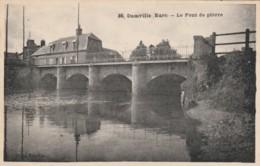 CARTOLINA NON VIAGGIATA PRIMI 900 DAMVILLE EURE FRANCIA (TY1637 - Francia