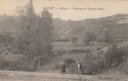 CARTOLINA NON VIAGGIATA PRIMI 900 DOYET FRANCIA (TY1797 - Autres Communes
