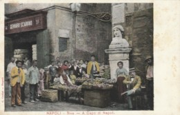 CARTOLINA NON VIAGGIATA PRIMI 900 NAPOLI RIVE CAPO DI NAPOLI (TY1953 - Napoli