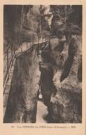 CARTOLINA VIAGGIATA 1934 LES GORGES DU FIER FRANCIA (TY1731 - Gorges