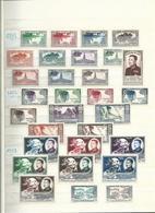 LAOS (Royaume) Très Belle Collection (1951 - 1975) Quasi Complète Neufs ** Et *. Poste Et PA Et Taxe. - Briefmarken