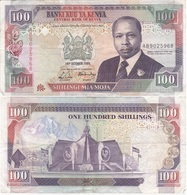 Kenya - 100 Shillings 1989 - VF Lemberg-Zp - Kenia