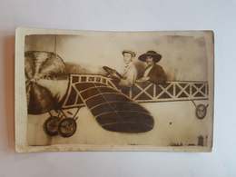 43695 -  Photo  Montage - Surrealisme  Avion - Photographs