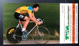 Johan Capiot - TVM - 1988 - Carte / Card - Cyclists - Cyclisme - Ciclismo -wielrennen - Cyclisme