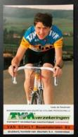 Ludo De Keulenaer - TVM - 1988 - Carte / Card - Cyclists - Cyclisme - Ciclismo -wielrennen - Cyclisme