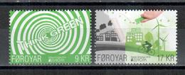 Färöer / Faroer / Féroé 2016 Satz/set EUROPA ** - 2016