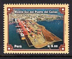 2011 Peru Port Ships   MNH - Perù