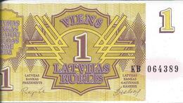 LETTONIE   -  1  Rouble   1992   -- UNC --    Latvija - Letland